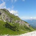 .. Richtung Fiderepasshütte