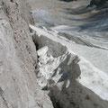 Übergang vom Ferner zum Klettersteig