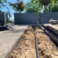 unauffällige bis gar nicht sichtbare Bewässerung ihrer Gartens - verlegt vom Profi: Gärtnerei Hupp aus Höchberg bei Würzburg