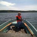 Angelausflug auf dem Garder See