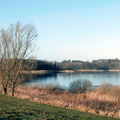 Upahler See im März