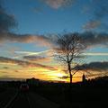 Sonnenuntergang (November 2014)
