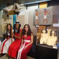 """""""Altägyptische Modenschau - Glamourös und unterhaltsam"""", Auftritt beim Kinderfest im Museum August Kestner, Hannover"""