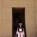Im Isis-Tempel von Philae (Ägypten)