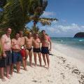 Dani, Hannes und Freunde in der Karibik 2014