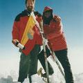 Hermann Höld am Kilimanjaro 1998