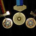 Erfolgreiche Ausbeute - CISM Medaillen
