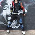 Pants (T513BB)  &  リメイクジャケット