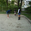 公園での楽しい遊びを考えています
