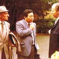 1981 Bürgermeister Riedl, Yuji-san, Herbert Rode