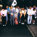 1989 Abschied Gruppe mit Leiter Tatsuo Nakajima