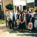 1999 Abschied am Storchennest- Hr. Nishikawa mit Kiki