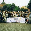 2000 Gruppenfoto vor der Abreise