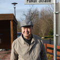 Jubiläumsbesuch 2015 unser Gast i.d. Fukui Str.