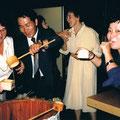 1985 Reisweinausschank in der Stadthalle