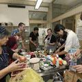 Gruppenreise kochen