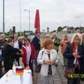 2012 Sektempfang am Fähranleger