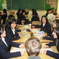 2007 Schulklasse mit dt. Gästen SR