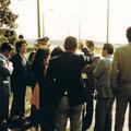 1980 Besichtigung der Zonengrenze bei Lauenburg