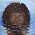 Pacific Islander, 70 x 100 cm, Öl auf Leinwand