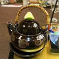 吸い物(県産松茸の土瓶蒸し)