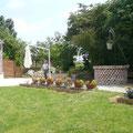 le vieux puits et sa terrasse de brique gite campagne Saint Quentin Aisne Laon Noyon Compiegne Peronne