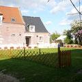 à l'écart du village, en retrait de la route gite campagne Saint Quentin Aisne Laon Noyon Compiegne Peronne