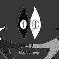白と黒 (けっこうね、気に入ってるんすよ。白い方がブランで黒い方がノワール。)