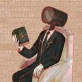 オムニゼさん(『アッテンボローの怪人』というweb漫画のキャラクターさんです。好きです。)