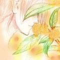 今年も君の季節(金木犀は幸せの香りです。好きです。)