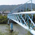 島田川水道管橋