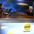 Con el Sr. Miguel Humberto Aguirre