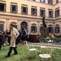 Antichi Giardini per Bottega Veneta Milano Fashionweek Show SS2018