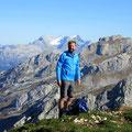 Sicht vom Diepen: Silbern - Glärnisch - Blüemberg