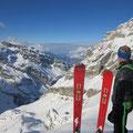 Gipfelblick bis nach Steinen SZ und Zugersee