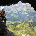 Adleraugeloch - interessante Stelle auf 2'505 m