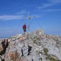 Altmann-Gipfel erreicht um 08.45