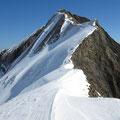 Im Winter ist das eine prächtige alpine Linie