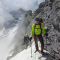 Das letzte Steilstück vor dem Gipfel.