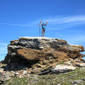 Gipfelaufbau auf dem Pizzo Barone