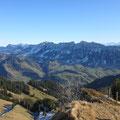 Prächtige Aussicht zu den Entlebucher Bergen....
