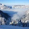 Beichle über dem Nebelmeer