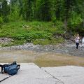 Chruterenbach - hier gab es nasse Füsse