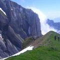 Aufstieg zum Wildhuser Schafberg