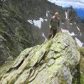 Luftige und leichte Kletterei zum Mognoi
