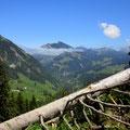 Start bei Alp Grümsch