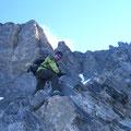 Einfache Kletterei am Willsgrätli
