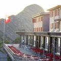 Das einladende Berghaus Brienzer Rothorn