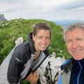 Gipfelselfie: Antonia + Richi
