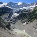 Die Gletscherwelt befindet sich leider auf dem Rückzug